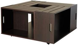 iohomes trenton crate coffee table