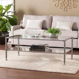 Jaymes Rectangular Open Shelf Cocktail Table
