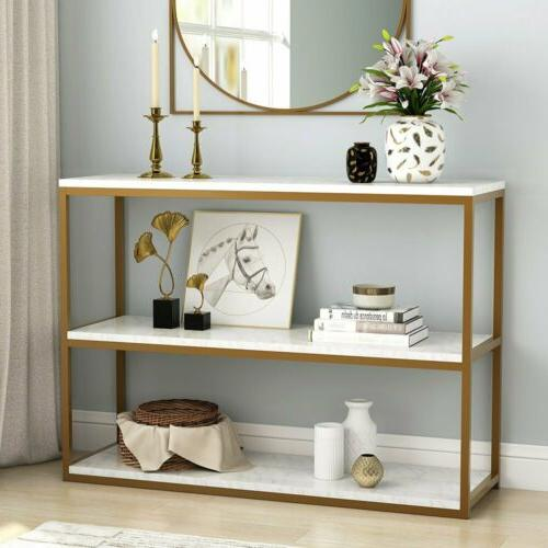 1 3tier modern coffee console table