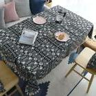 100% Cotton Dinning Coffee Table Cloth Covering tUSl Floral
