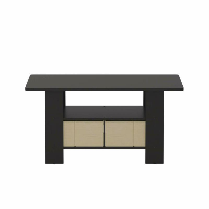 Furinno 11158EX/BR Coffee Table with