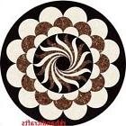 """21"""" Round Nice Multi Design On White Marble Coffee Table Top"""