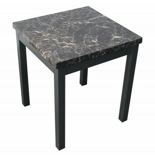 3 Piece Modern Marble Coffee Table legs and