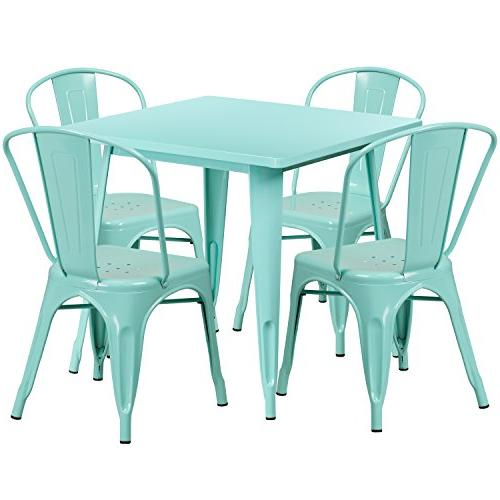 31 5 square mint green
