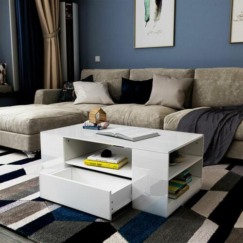 """37"""" Coffee Table Living Furniture w/Drawer"""