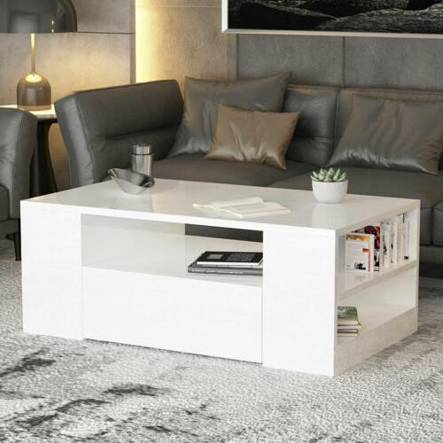 """37"""" Coffee Table w/Drawer"""