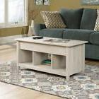 Sauder 419096 Edge Water Lift-Top Coffee Table, Chalked Ches