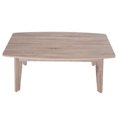 "43"" Chic Living Room Table Natural Grain"