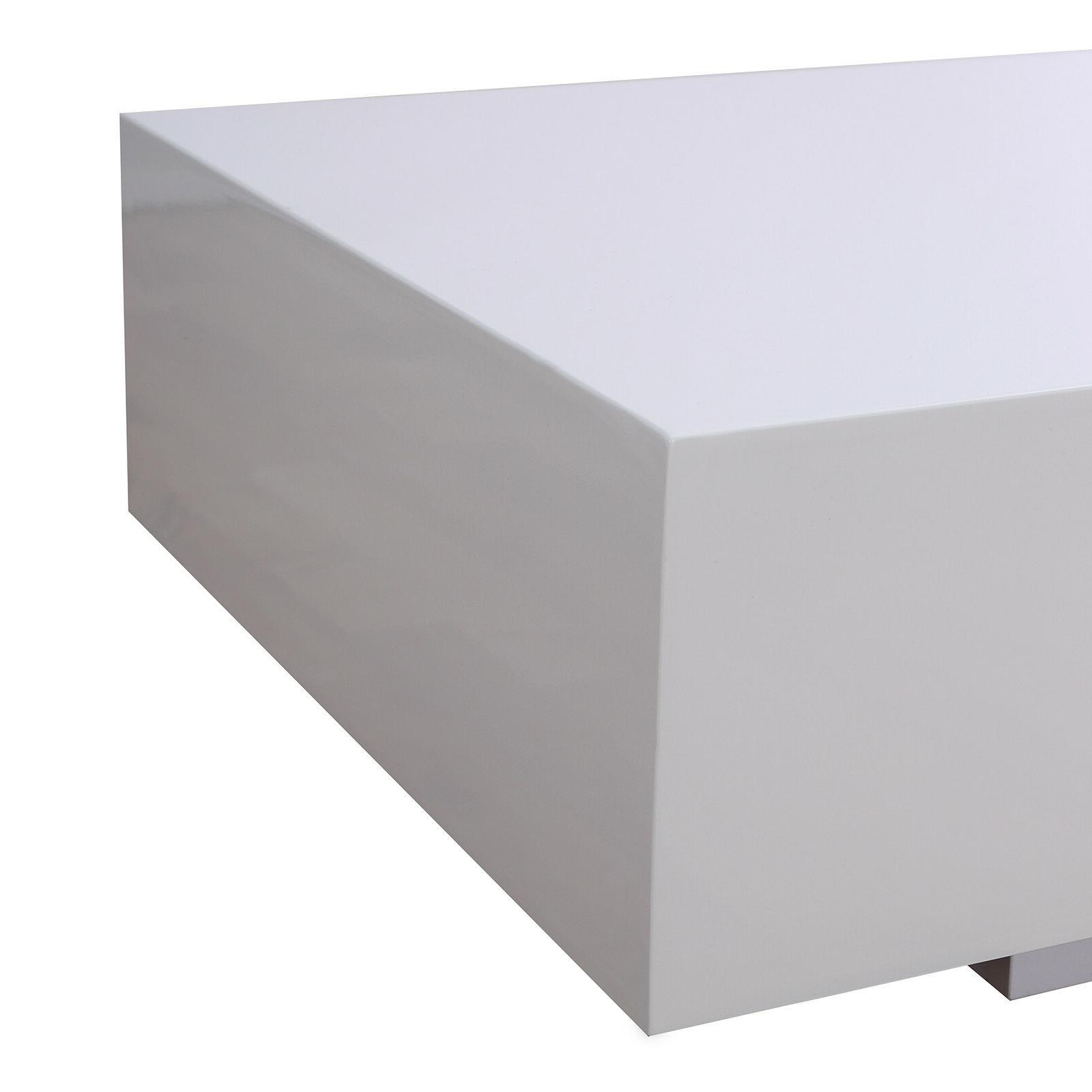 """45"""" White Table End Furniture"""