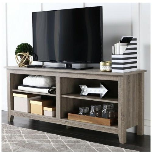 WE Furniture TV Stand Driftwood