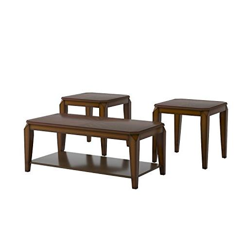 3Piece Coffee End Table Set,