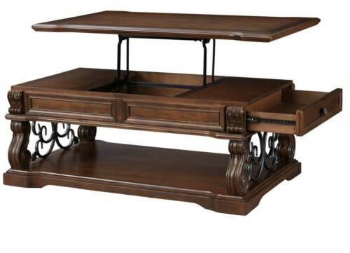 Ashley Furniture Signature Design - Alymere Lift Top Coffee