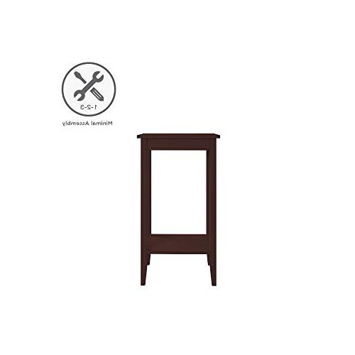 DHP Rosewood Tall Table, Design, Small Space Coffee