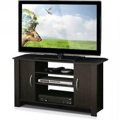 Furinno 14055EX Econ TV Stand Entertainment Center, Espresso