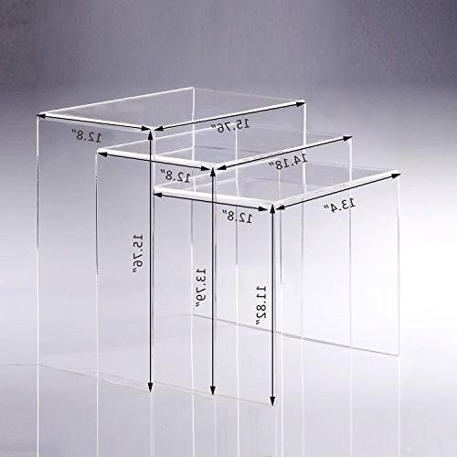 Nesting Tables - Clear