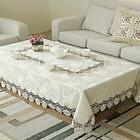 Luxury Lace Tablecloths Coffee Table Living Room Restaurant