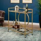 Sauder Woodworking International Lux Bar Cart