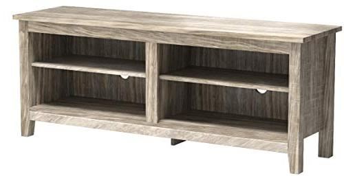 "WE 58"" TV Console, Driftwood"