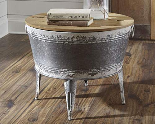 Signature by A4000209 Shellmond Accent Table