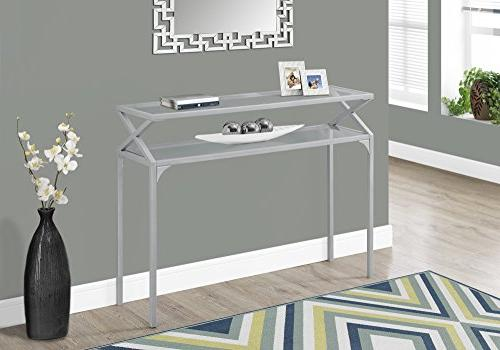 accent table metal hall console