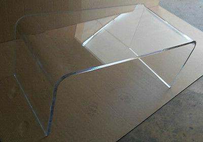 "Acrylic Coffee Table Lucite 42 3/4"" thick"