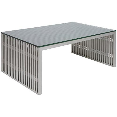 amici rectangular stainless steel coffee