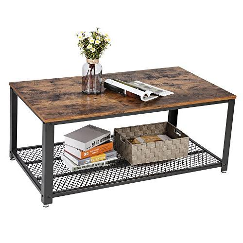 with Shelf for Living Look Accent Furniture with Metal Frame, Assembly