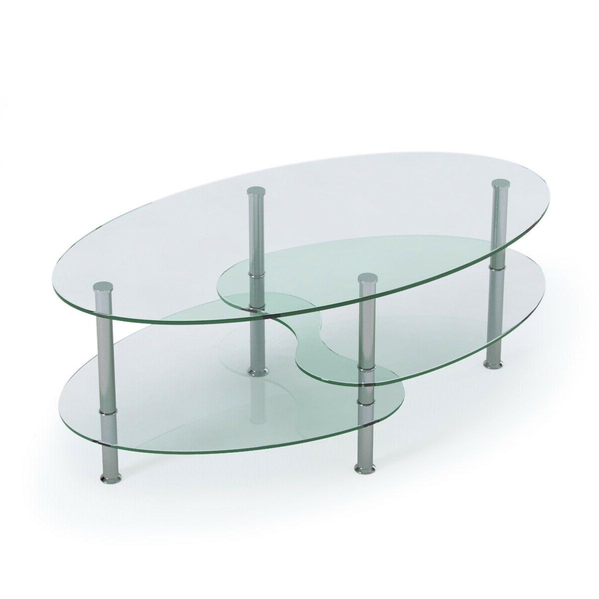 Glass Coffee Table Under Glass