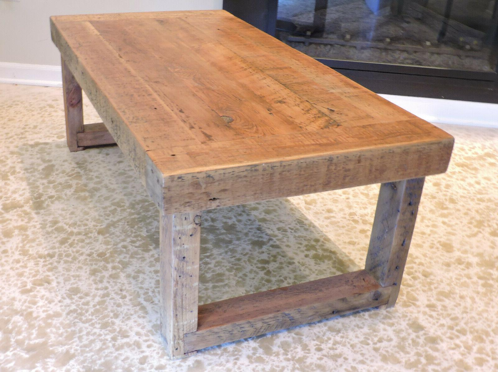 Barnwood Table. inch Rustic, Top.
