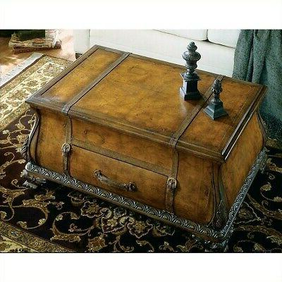 Beaumont Bombe Coffee Table Brown