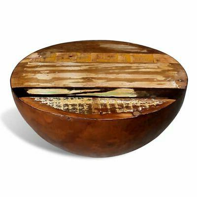 vidaXL Bowl Shaped Coffee Table Solid