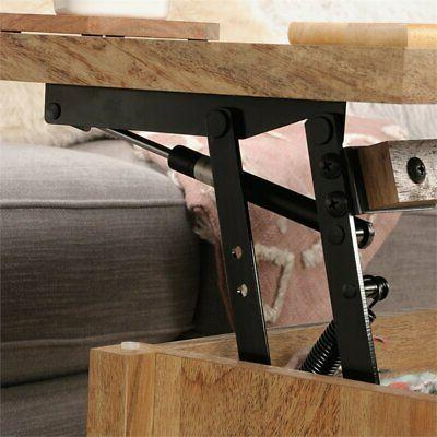Sauder Wood Lift Table in