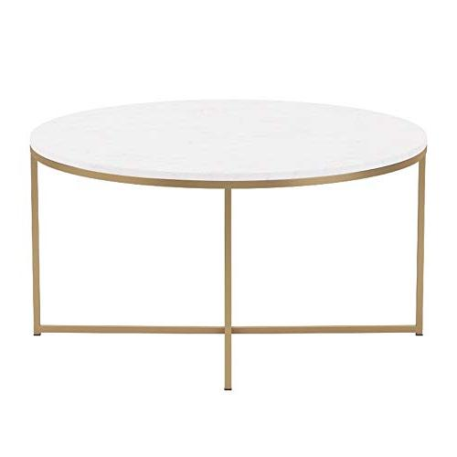 "WE 36"" Coffee Table X-Base Faux"