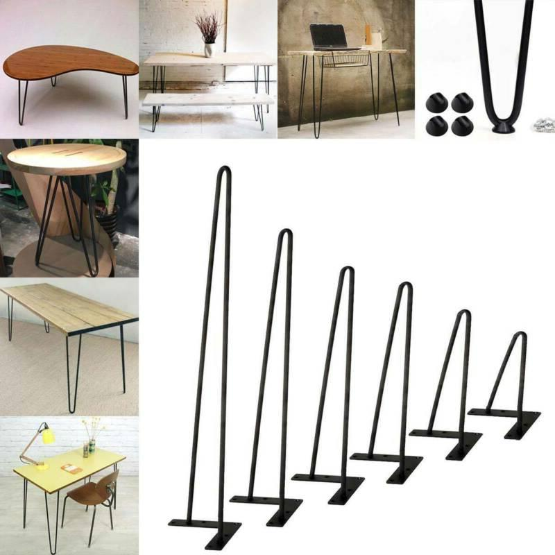 coffee table black hairpin legs 8 30
