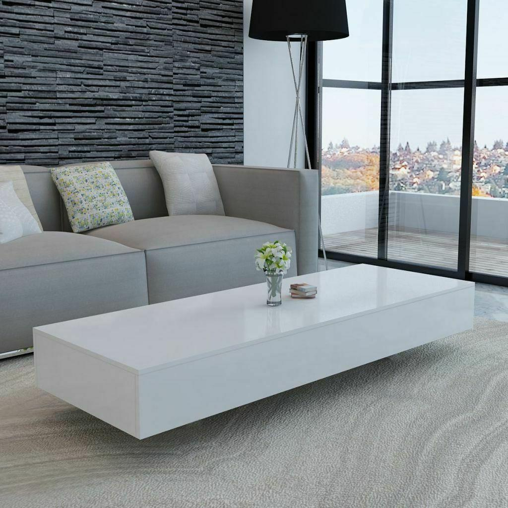 coffee table high gloss white 45 3