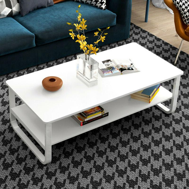 Coffee Table Rectangular Cocktail Table Living Room Furnitur