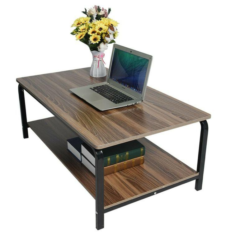 Modern Simple Table Tea Desk Rectangular Living