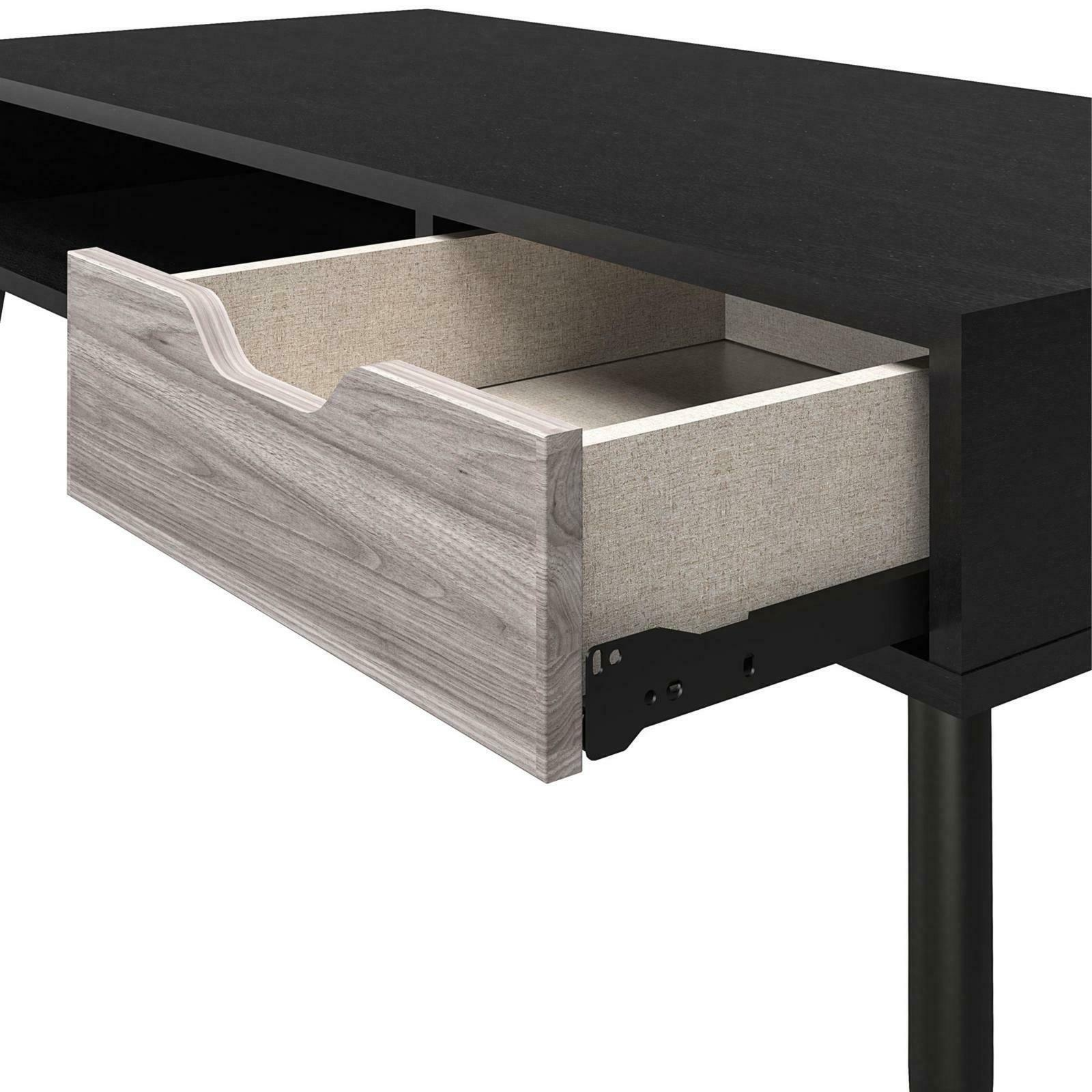 Queer Copley Transitional Coffee Table, Black