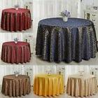 Damask Floral Jacquard Tablecloths Oblong Table Cloth Cover