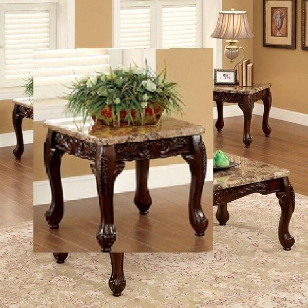 Dark 3 Table Set End Tables Furniture New