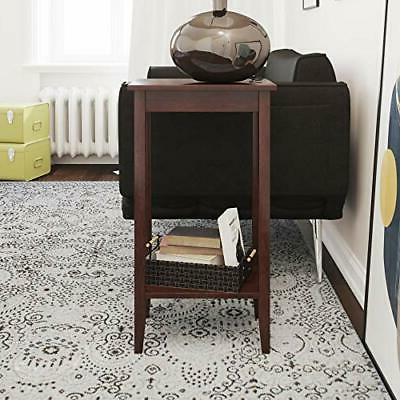 DHP Rosewood Tall End Table Coffee