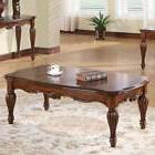 Dreena Occasional Living Room Coffee Table Carved Solid Wood