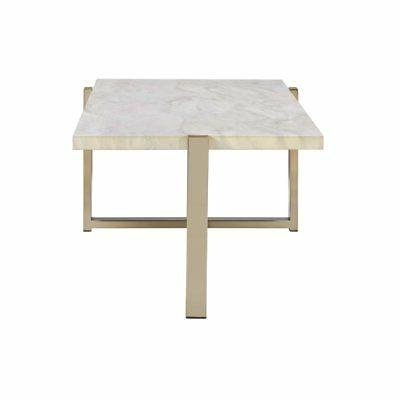 ACME Furniture Feit Coffee Table in White