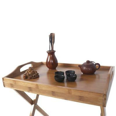 Portable Folding Table Coffee Kitchen Wood Furniture Picnic