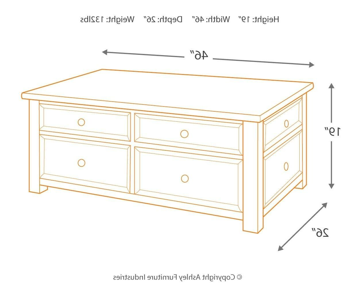 Signature Design by Furniture Grayish and Brown