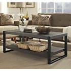 "Hanthure Charcoal HOME 48"" Coffee Table"
