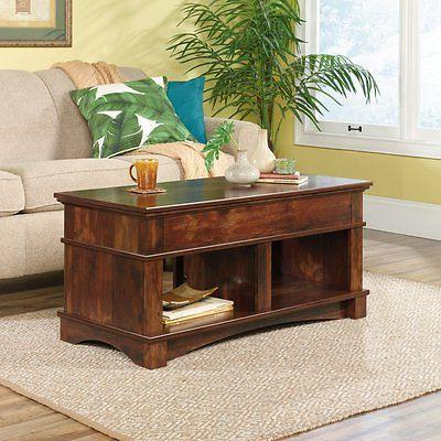 harbor view lift top coffee table cherry