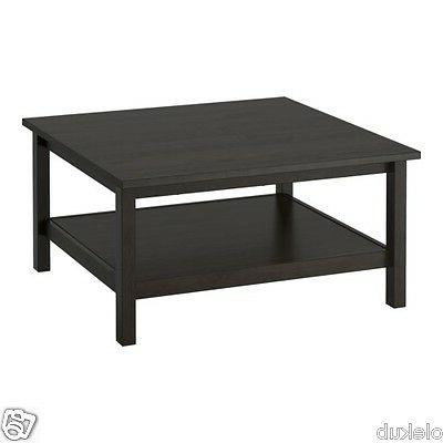 IKEA HEMNES Coffee Table Black Brown Brand New Modern 35 x 3