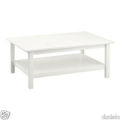 IKEA HEMNES Coffee Table Stain White Brand New Modern 301.76