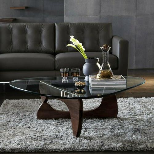 Herman Noguchi table Authentic dark walnut